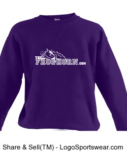 Russell Youth Dri-POWER  Crewneck Sweatshirt Design Zoom